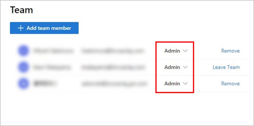 ユーザーの権限設定